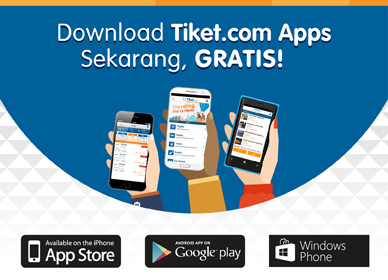 Download Apps Tiket.com